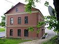House at Eŭfrasińnia Polackaja street with satellite antenna at the tree - panoramio.jpg