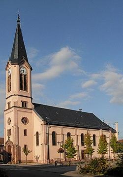 Houssen, Eglise Saint-Maurice.jpg