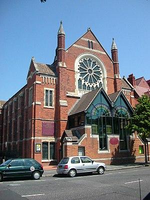 Hove Methodist Church - Church front