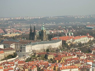 Roman Catholic Archdiocese of Prague - An aerial view of St. Vitus Cathedral