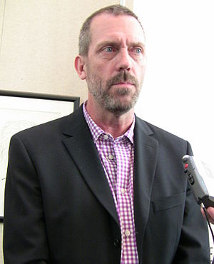 English: Hugh Laurie at TV series House event ...