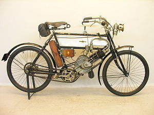 Humber Limited - Motorcycle 2¾ hp, 1904