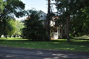 National Register of Historic Places listings in Turner County, South Dakota - Image: Hurley SD Brough Martinson House