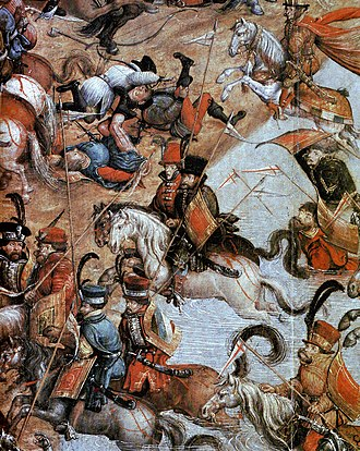 Battle of Orsha - Polish Hussars during the Battle of Orsha (1514)