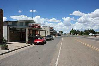 Roy, New Mexico - Image: Hwy 39 Richelieu St