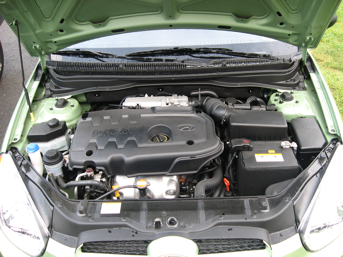 Hyundai Alpha Engine