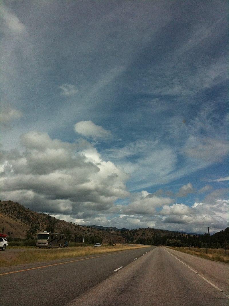 Montana big horn county wyola - I 90 Granite County Mt Jpg