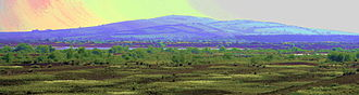 Croghan Hill - Croghan Hill, from the southwest