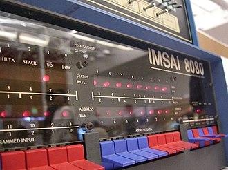 IMS Associates, Inc. - The IMSAI 8080.