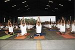 INS Garuda celebrates International Yoga Day 2017 (7).jpg