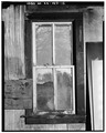 INTERIOR, DETAIL OF SOUTH WINDOW - Kandt-Domann Farmstead, Wash House, State Route 3, Hope, Dickinson County, KS HABS KANS,21-HOPE.V,1-D-12.tif