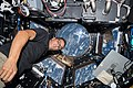 ISS-53 Joseph Acaba works inside the cupola.jpg