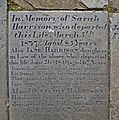 I am brought to join the sinless throng - gravestone in St Peter's churchyard, Leeds (9128151565).jpg