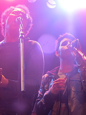 Say Something - The personal lyrics, written by the band members (pictured), were highly praised by critics.