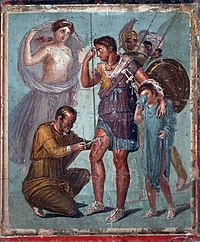 Iapyx removing arrowhead from Aeneas.jpg