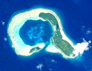 Ifalik - NASA picture of Ifalik Atoll