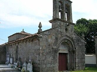 Palas de Rei - Church of Santiago de Albá.