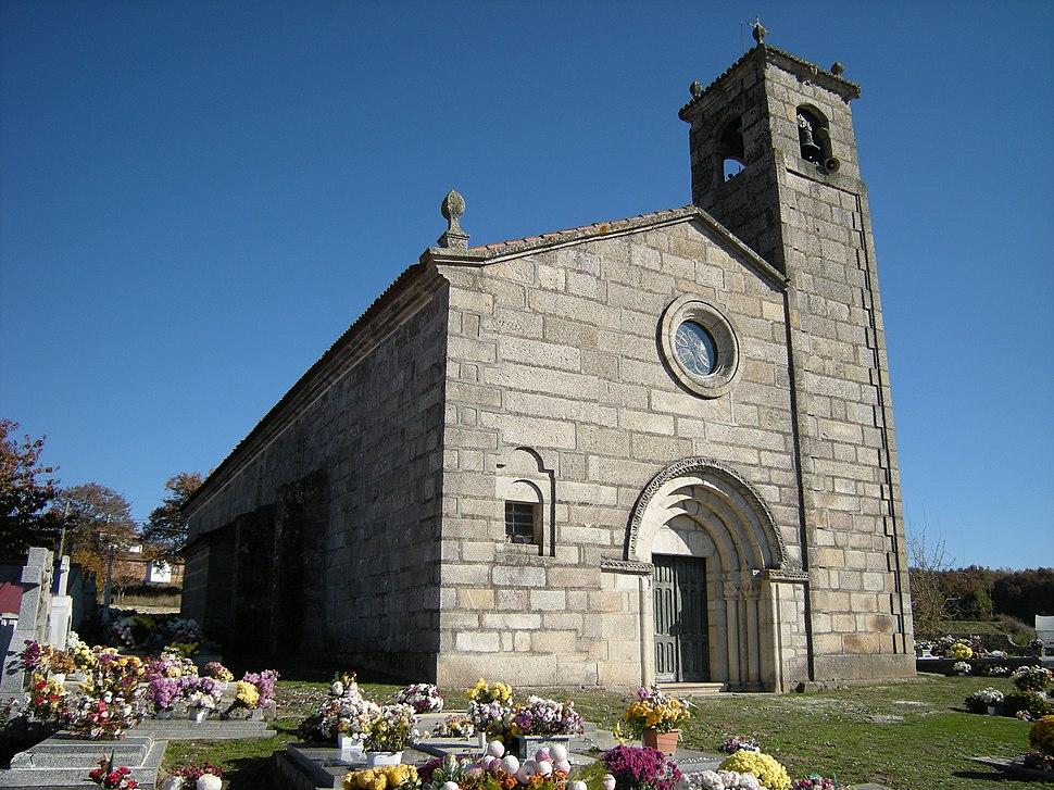 Igrexa de Santa María de Parada de Outeiro, Parada de Outeiro, Vilar de Santos