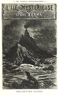 Cover page of The Mysterious Island