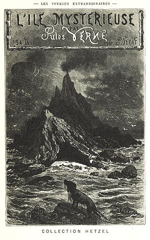 The Mysterious Island - Cover page of The Mysterious Island
