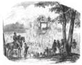 Illustrirte Zeitung (1843) 15 225 1 Die Einweihung des Friedhofes in der Hasenheide bei Berlin.PNG