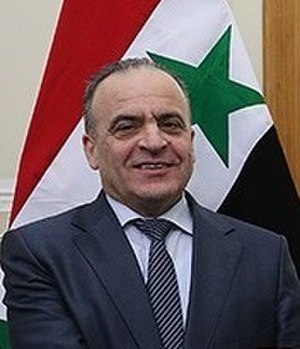 Prime Minister of Syria - Image: Imad Khamis