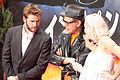 Independence Day- Resurgence Japan Premiere- Liam Hemsworth, Jeff Goldblum & Maika Monroe (28580443605).jpg