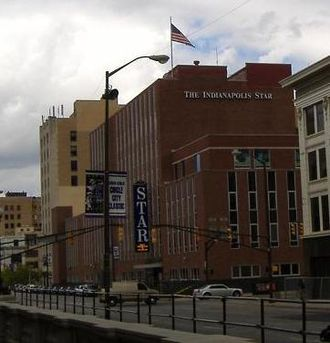 The Indianapolis Star - Former headquarters at 307 North Pennsylvania Street.