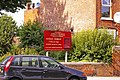 Information Board, Christ Church, Friern Barnet Road, London N11 - geograph.org.uk - 901245.jpg