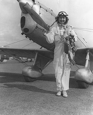 Laura Ingalls (aviator) - Image: Ingalls, Laura (4729134014)