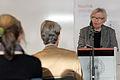 Inger Christensen laser ur ett av sina verk vid lanseringen av Nordisk litteratur til tjeneste pa Sorte diamant i Kopenhamn 2008-03-05 (2).jpg