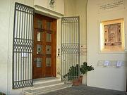 Ingresso pinacoteca nazionale palazzo Diamanti Ferrara.JPG