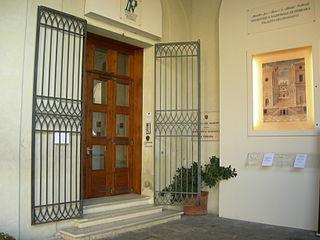 Art museum in Ferrara, Italy
