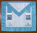Installed Master Freemason apron.jpg