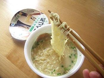 Instant lamian noodles