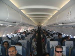 Simplifly Deccan - Interior of a Simplifly Deccan Airbus A320