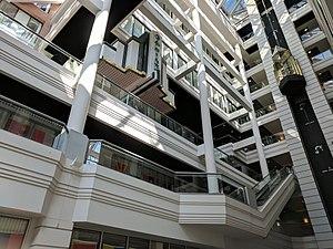 Cray Plaza - Interior of the Cray Plaza building atrium
