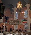 Interior of chapel with contributions for WTC recovery workers.jpg