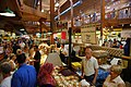 Interior of food building at the St. Jacobs Farmers Market, 2011 July 7.jpg