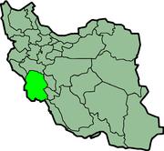 موقعیت استان خوزستان در نقشه ایران