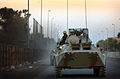 Iraqi National Guard (ING) troops move BTR-94 APCs into position in Baghdad, Iraq.JPEG