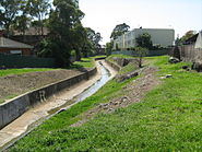 Iron Cove Ck looking downstream from John St, Croydon