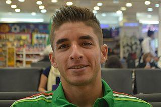 Isaác Brizuela Mexican footballer