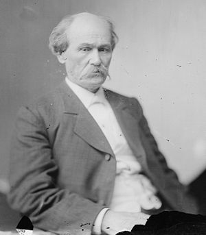 Isham G. Harris - Harris, photographed as a member of General Albert Sidney Johnston's staff during the Civil War