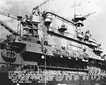 Island of USS Hornet (CV-8) on 28 February 1942 (19-N-29065).jpg