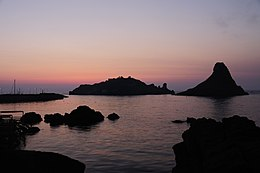 Islands of the Cyclops at Dawn Sicily Italy - Creative Commons by gnuckx.jpg