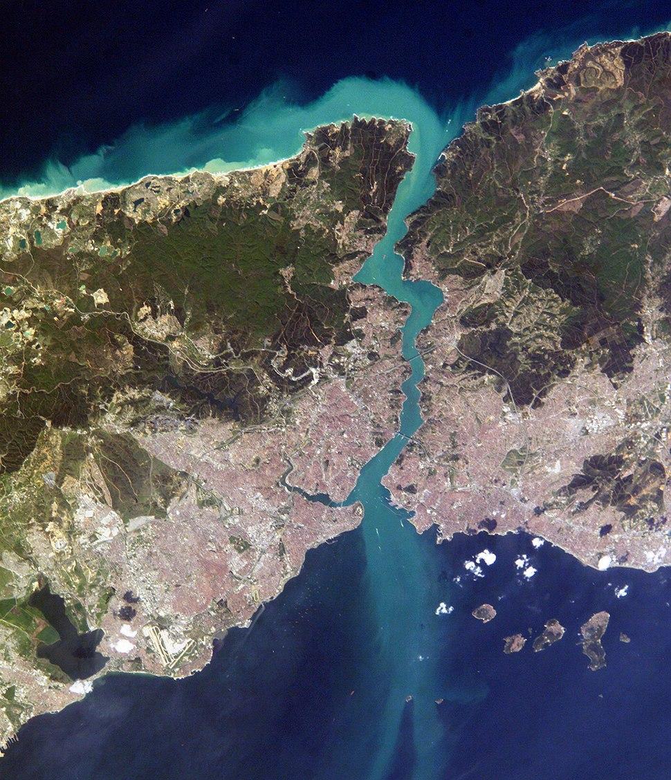 Istanbul and Bosporus big
