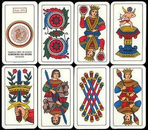 Briscola - Image: Italian Playing Cards