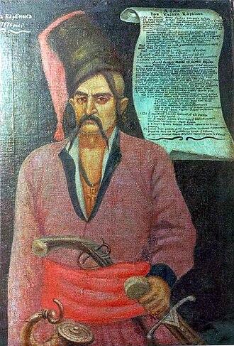 Barvinkove - Image: Ivan Barvinok Otaman Ost