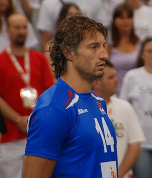 Serbia men's national volleyball team - Ivan Miljković, one of the most notable players